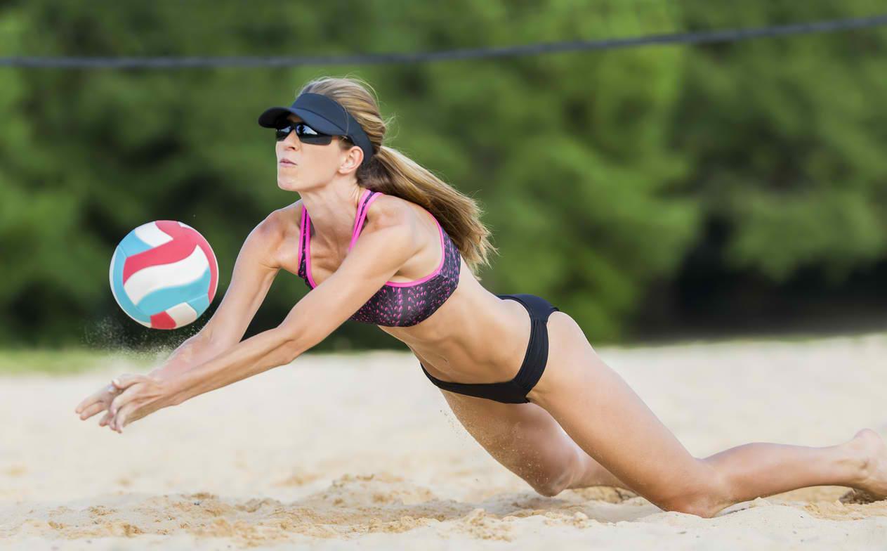 beach vs indoor volleyball