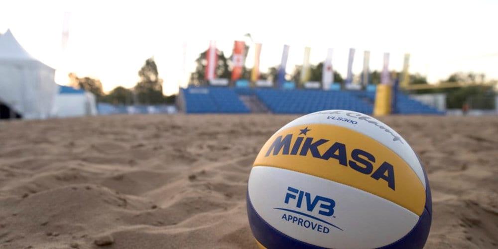 Beach ball on beach Giant Top Balls For Beach Volleyball We Love Volleyball Top Balls For Beach Volleyball We Love Volleyball