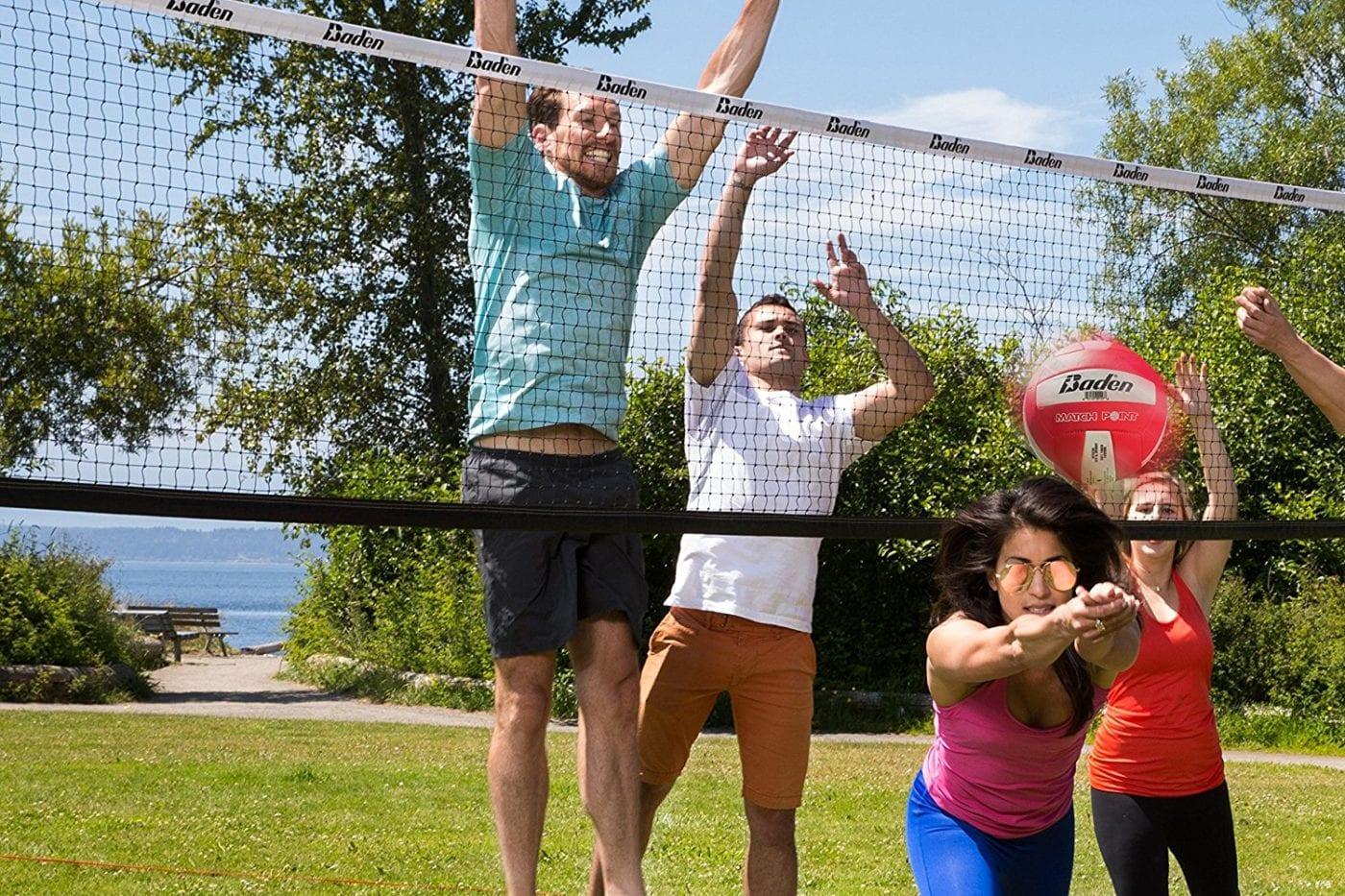 Baden Champions Volleyball/badminton Set