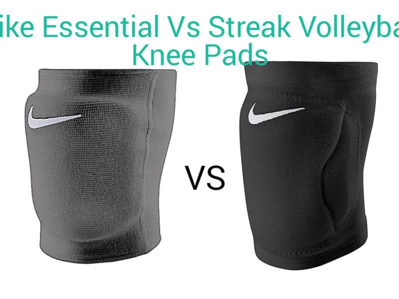 Nike Essential Volleyball Knee Pads Vs Nike Streak Knee Pads