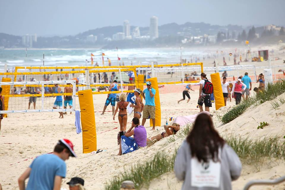 Beach Volleyball Gold Coast