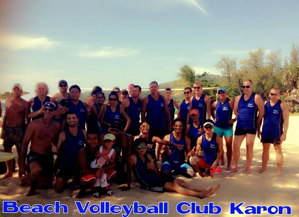 beach volleyball club karon