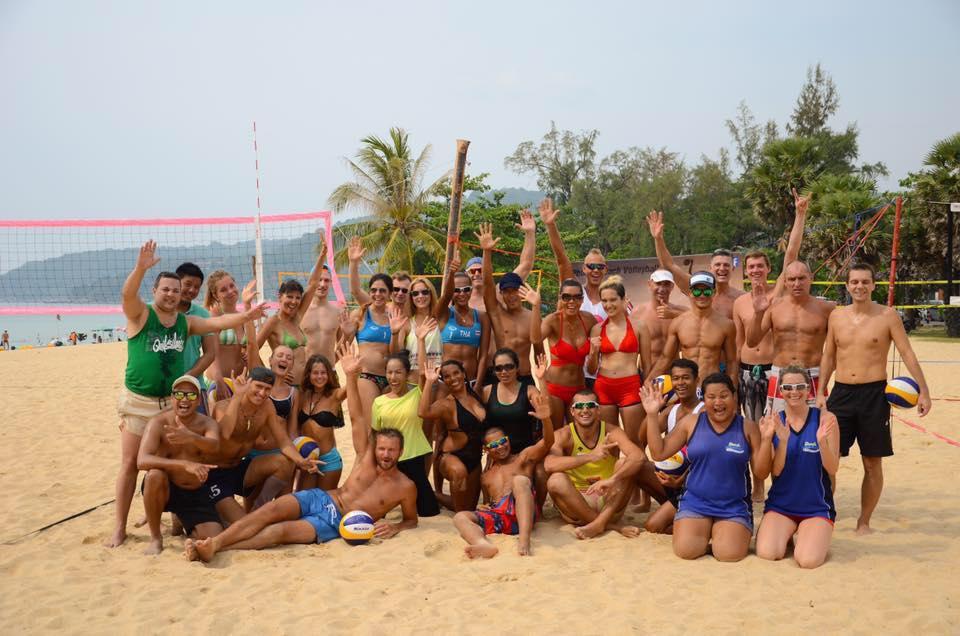 phuket beach volleyball club