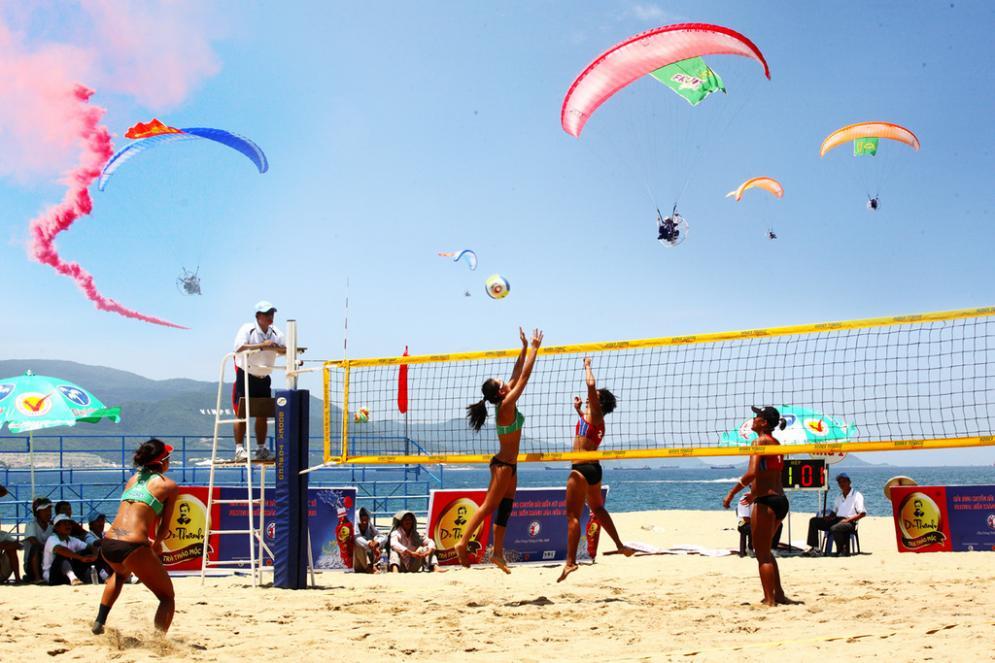vietnam beach volleyball