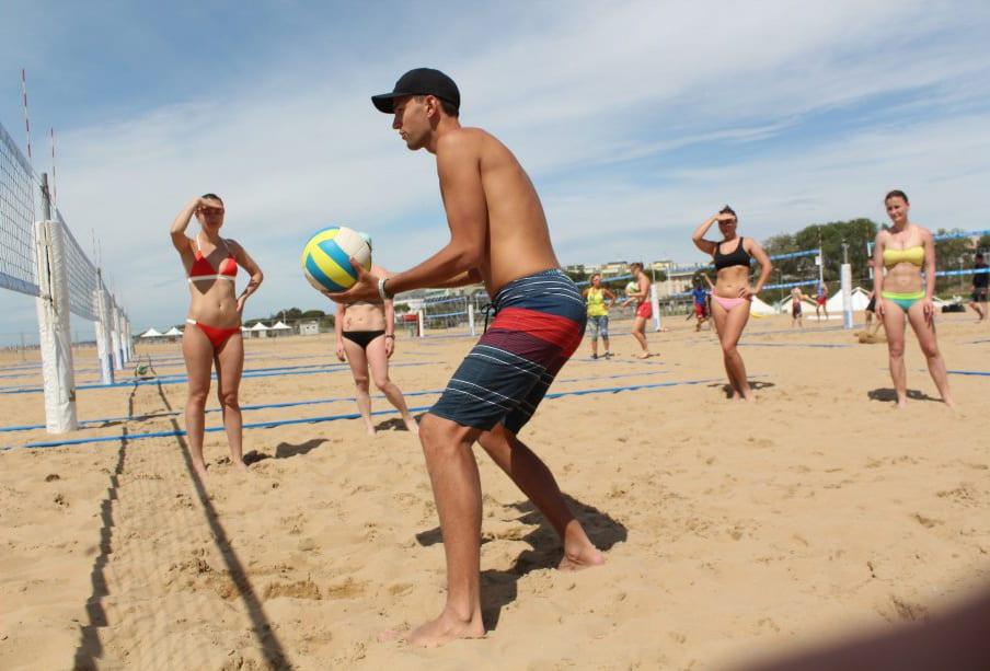 sportspirit beach volleyball camp
