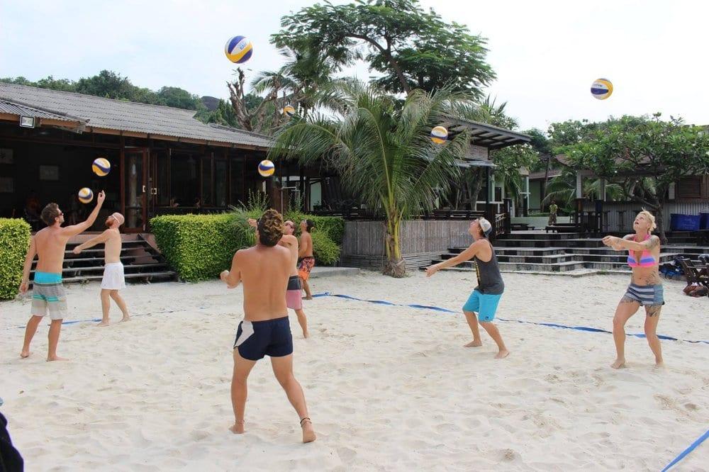beachvolleyball thailand