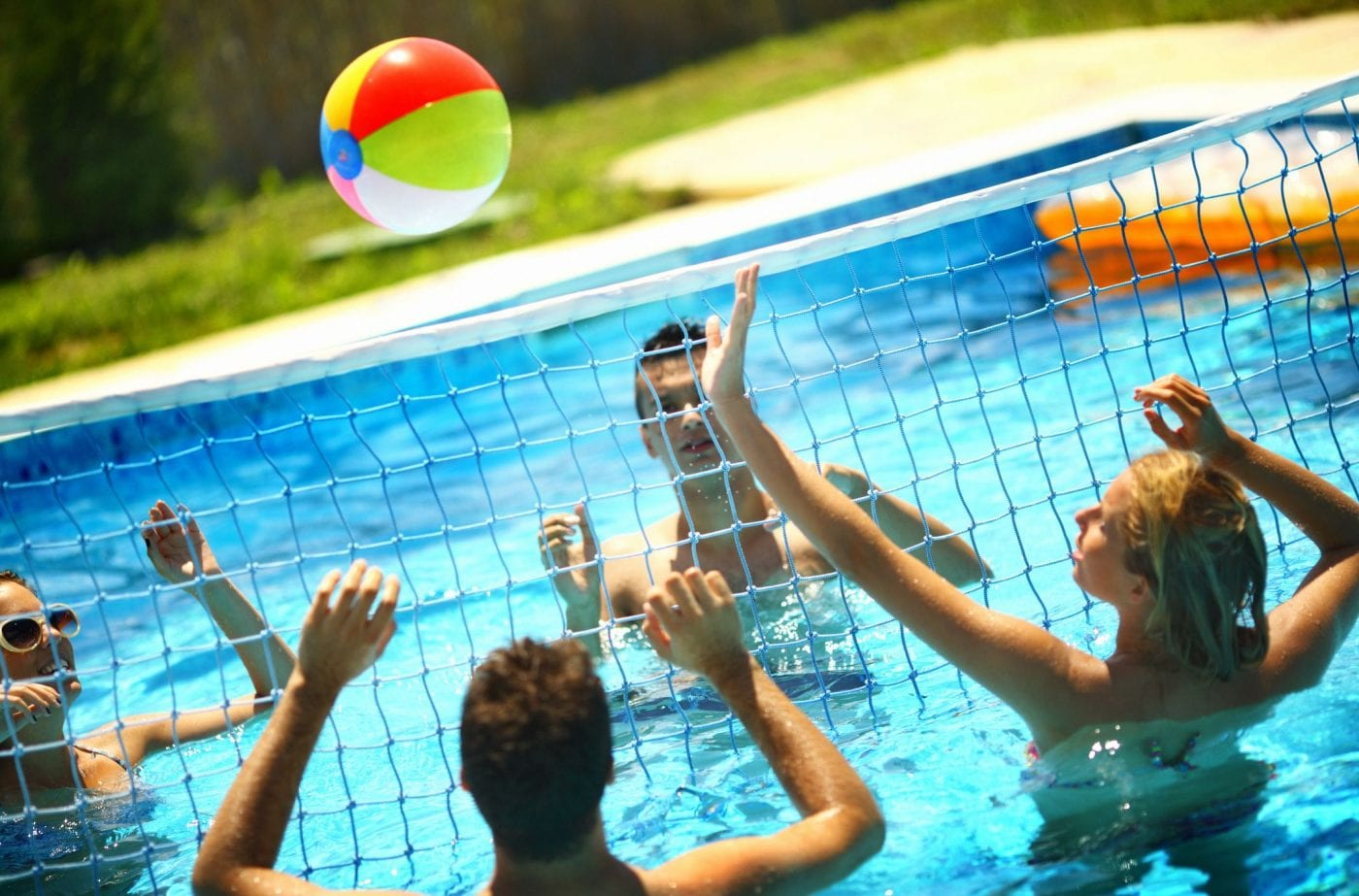 best 4 pool volleyball nets