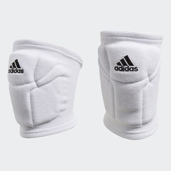 Adidas Unisex Elite Volleyball Performance Knee Pads white