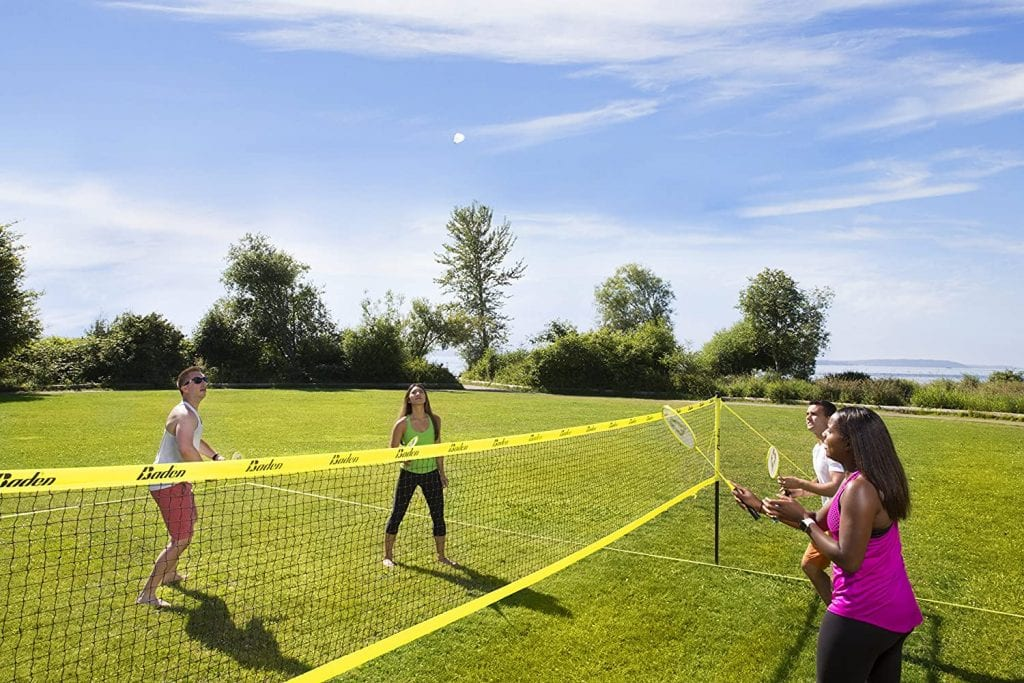 Baden Champions Badminton Set game
