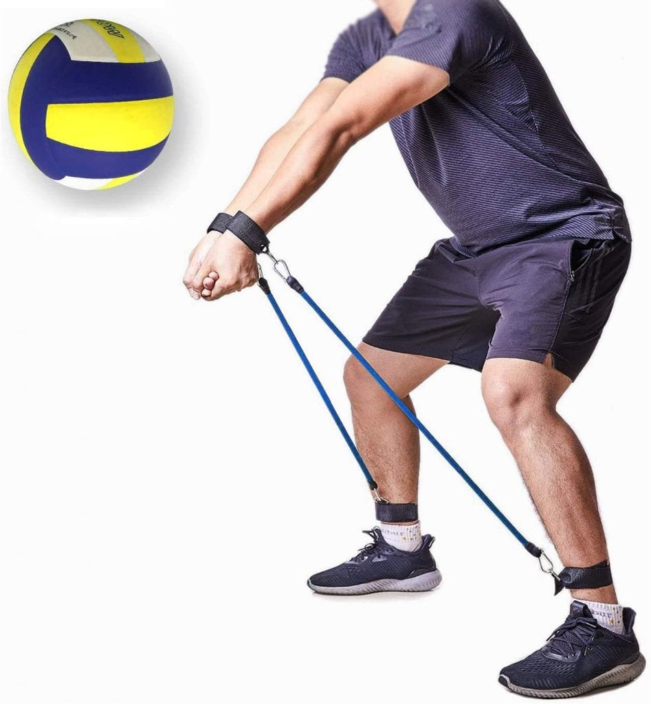 MCJS Volleyball Training Equipment Volleyball Bounce Training Rope