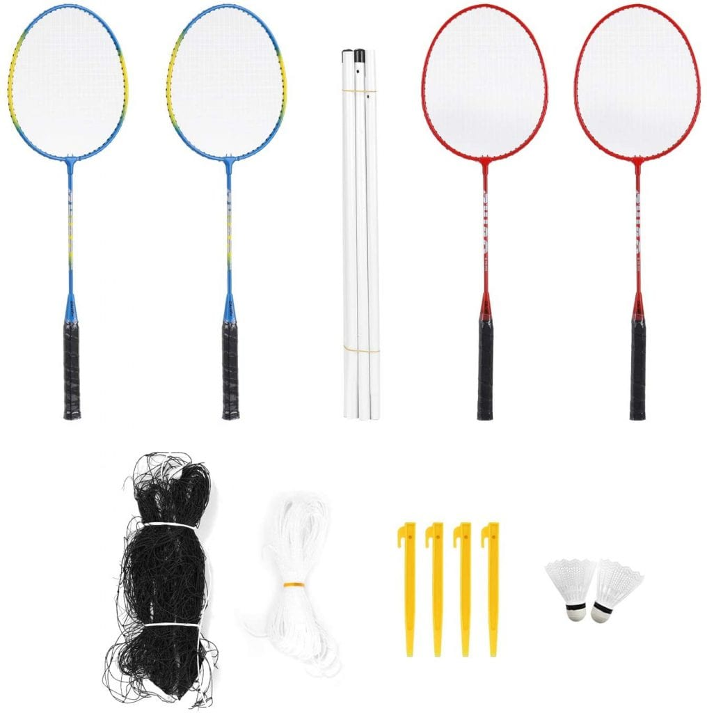 Roeam Outdoor Sports Badminton Rackets Set complete