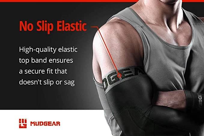 MudGear Padded Arm Sleeves no slip
