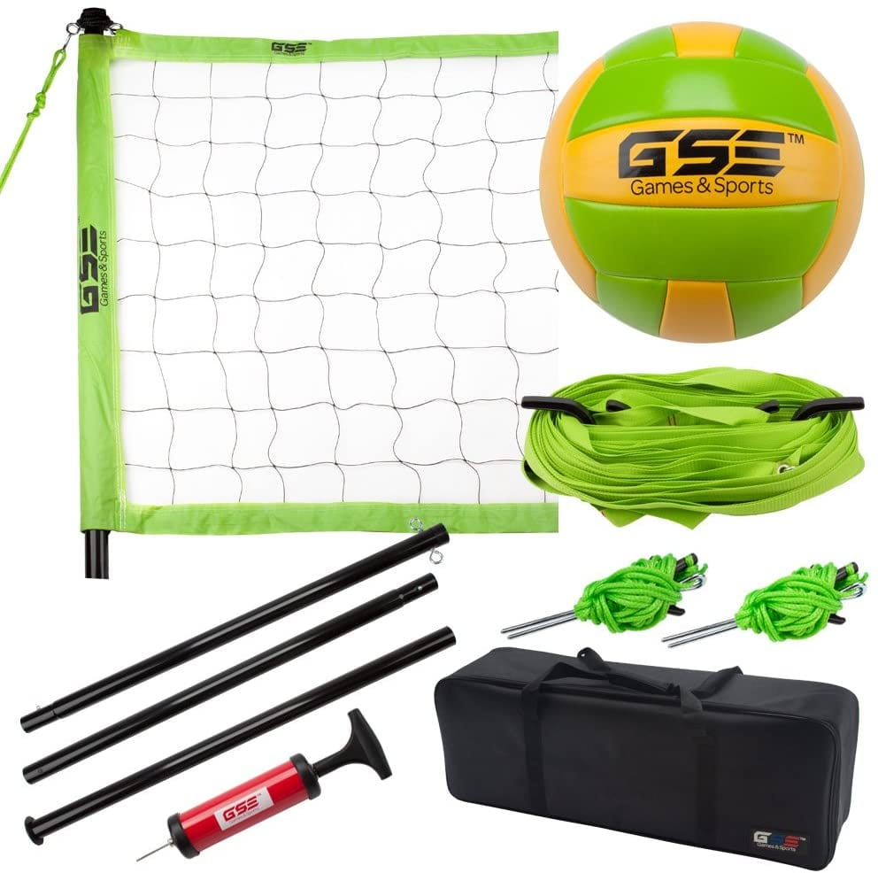 GSE Games & Sports Expert Portable Volleyball Set