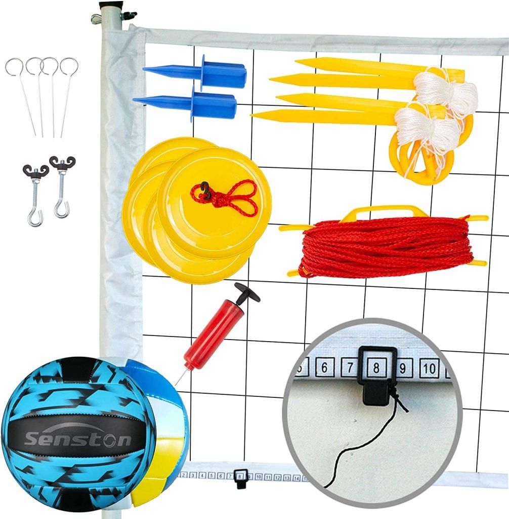 Senston Outdoor Volleyball Net System