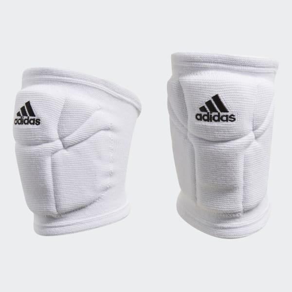 Adidas Unisex Elite Volleyball Performance Knee Pads white