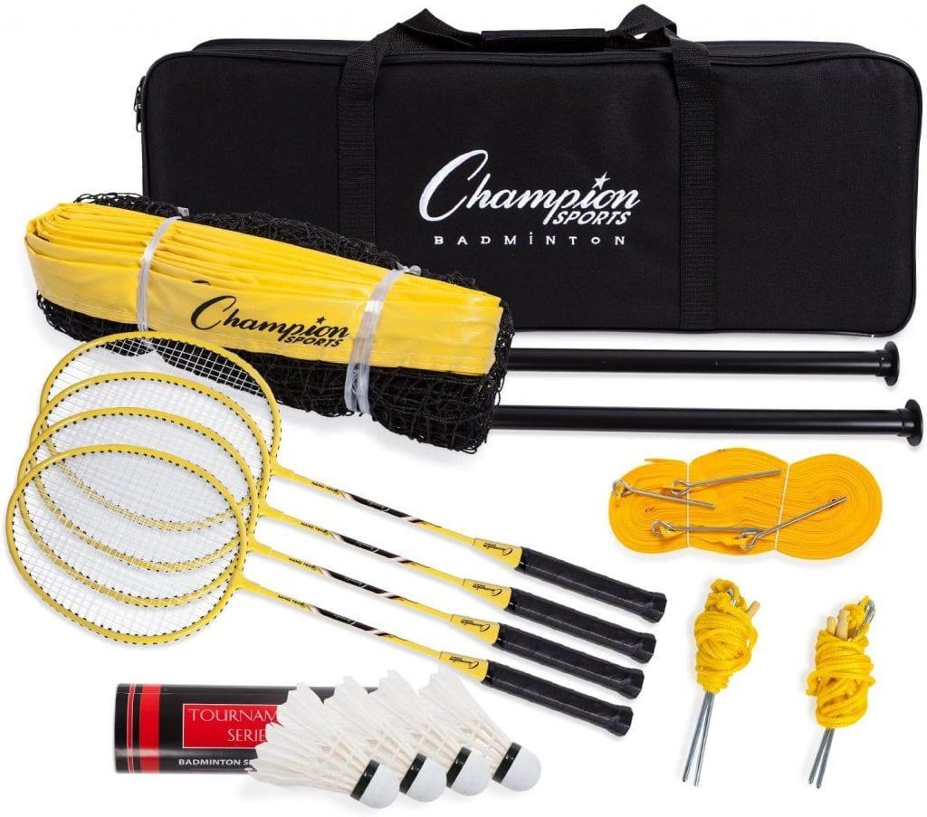 Champion Sports Deluxe Badminton Set