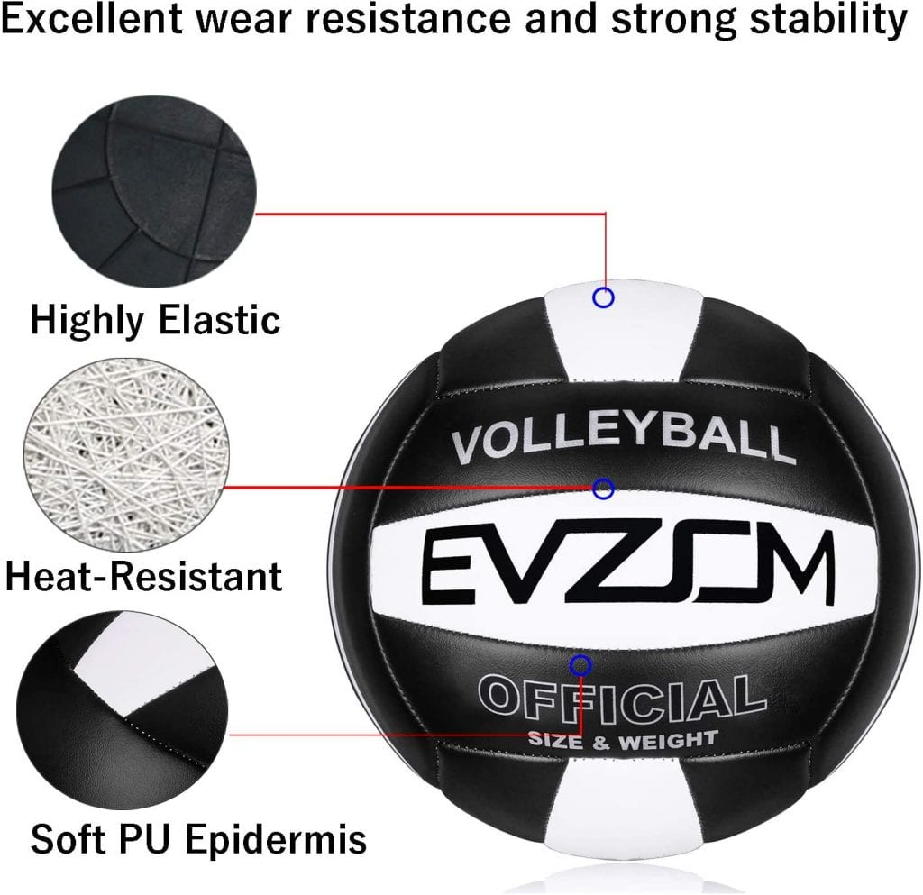 EVZOM Super Soft Volleyball Beach features