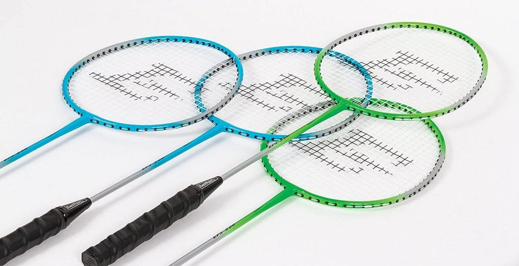 EastPoint Sports Deluxe Volleyball Badminton Net Set Racquets
