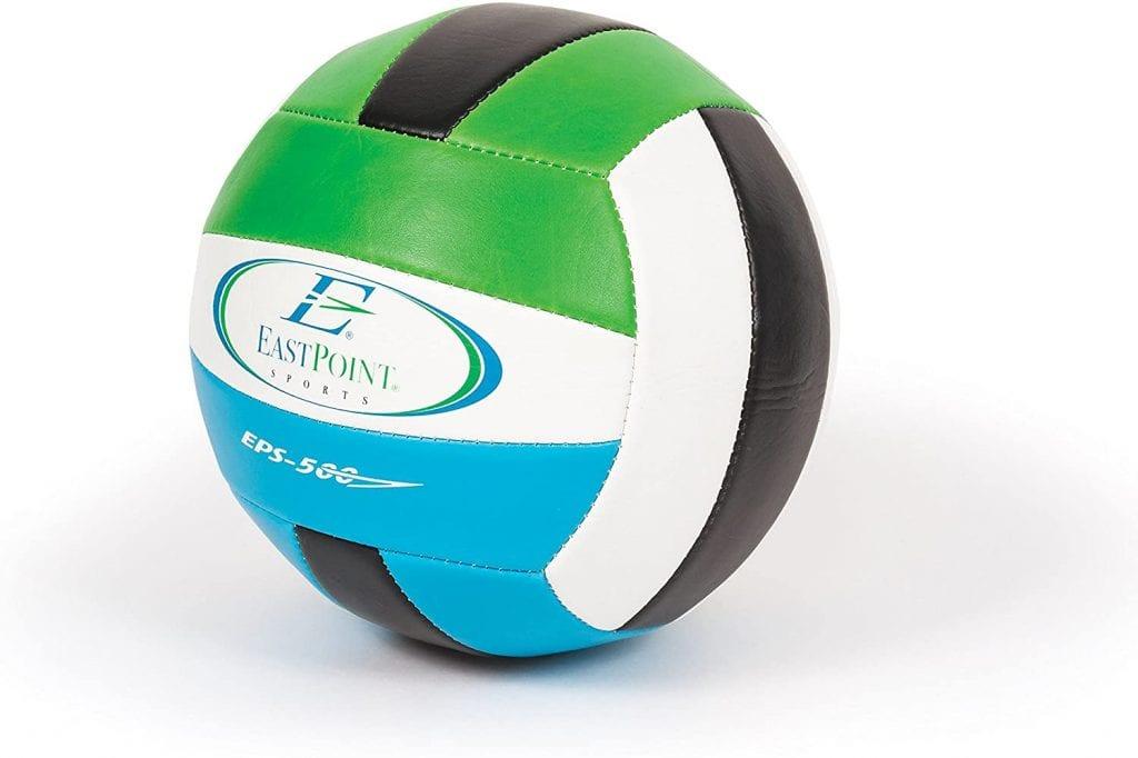 EastPoint Sports Deluxe Volleyball Badminton Net Set ball