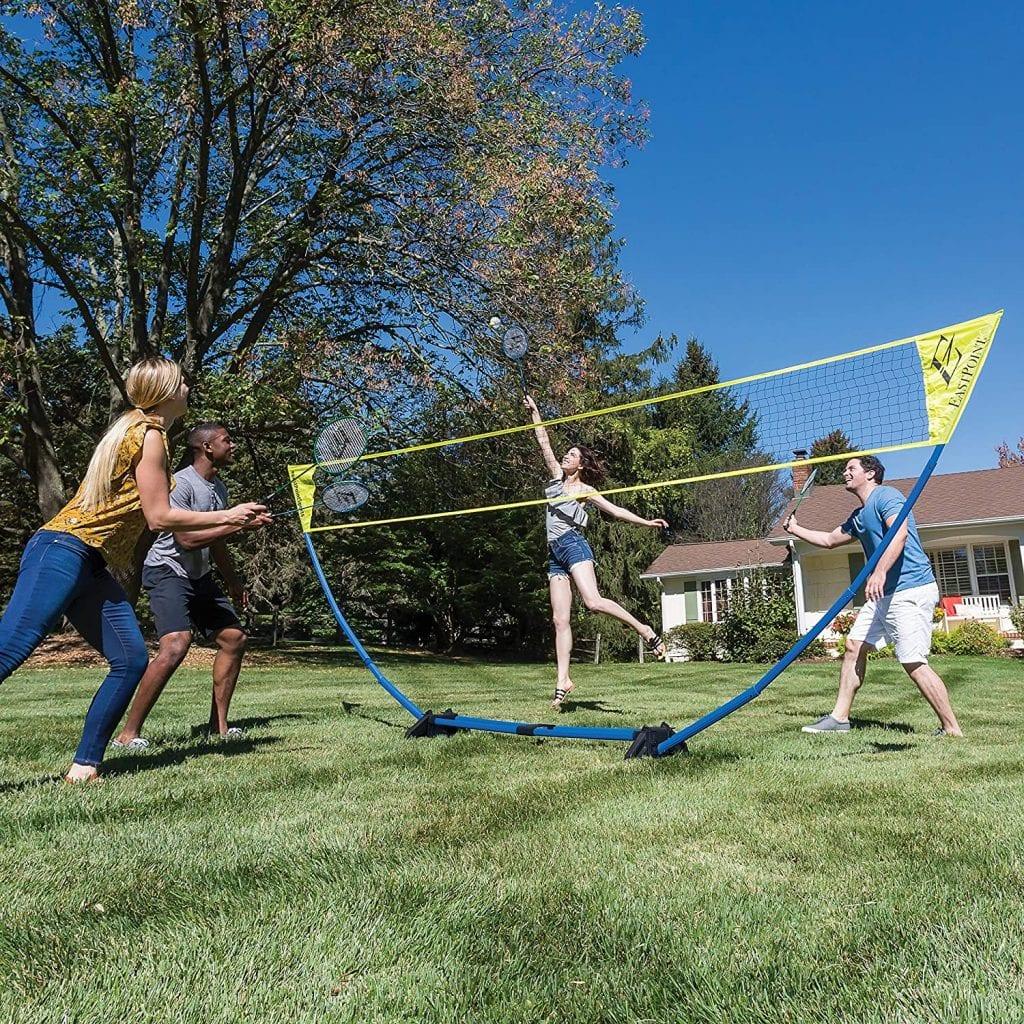 EastPoint Sports Easy Setup Regulation Badminton