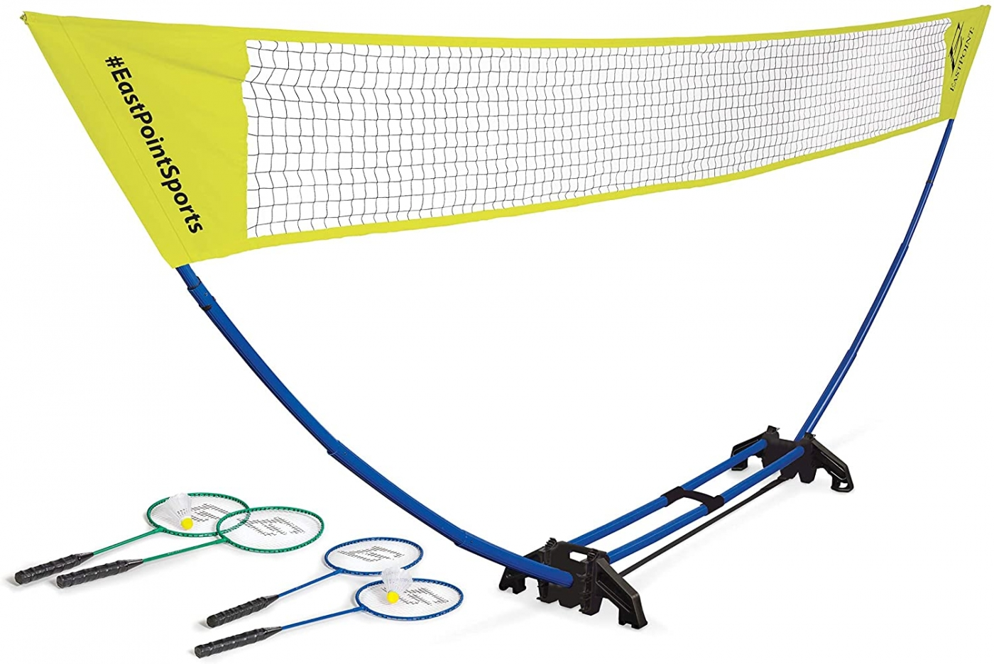EastPoint Sports Easy Setup Regulation Badminton Set