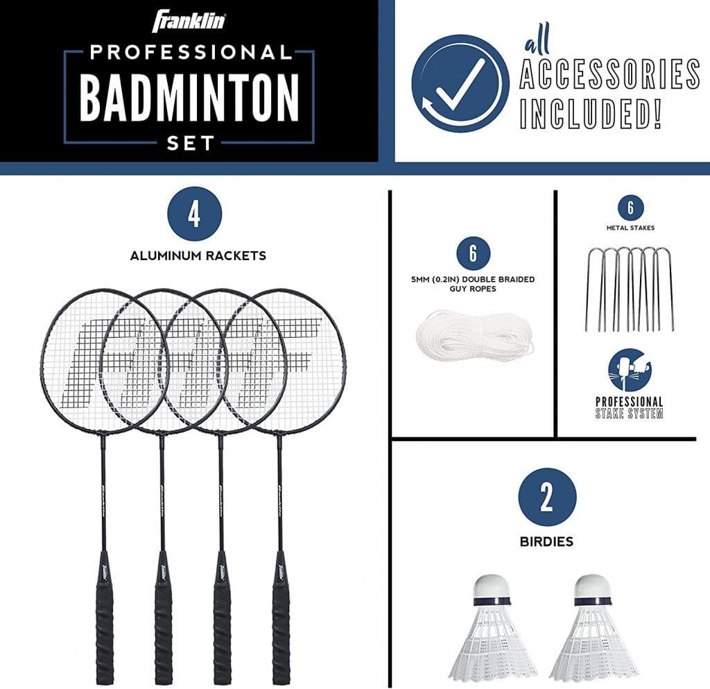 Franklin Sports Badminton professional