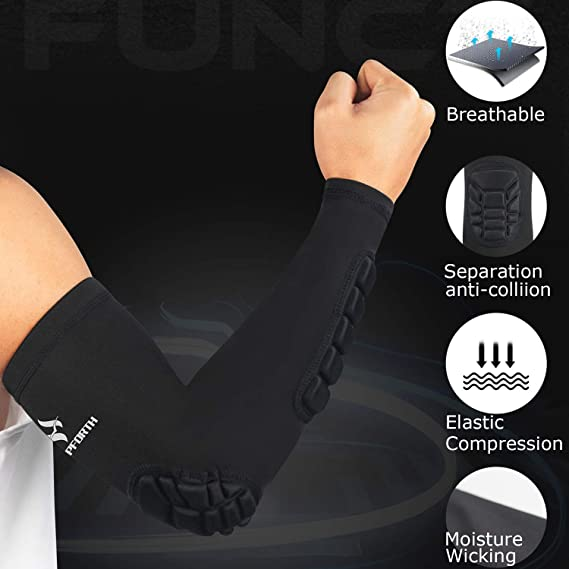 top 5 volleyball padded arm sleeves
