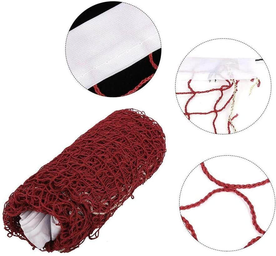 MAVIS LAVEN Portable Badminton Net red