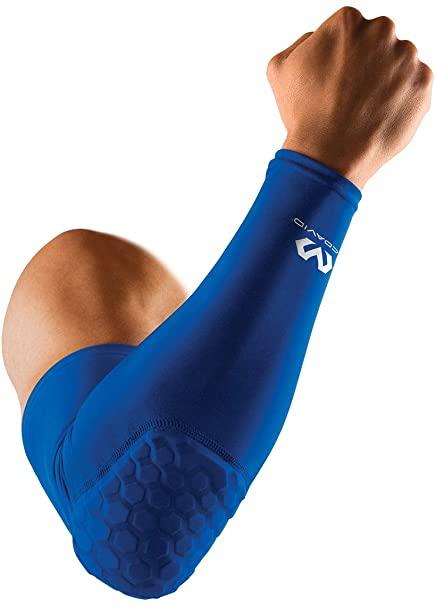 Mcdavid 6500 Hex Padded Arm Sleeve blue