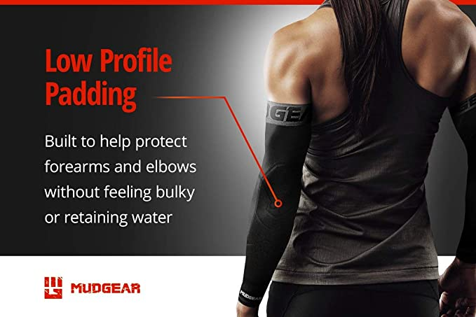 MudGear Padded Arm Sleeves low profile