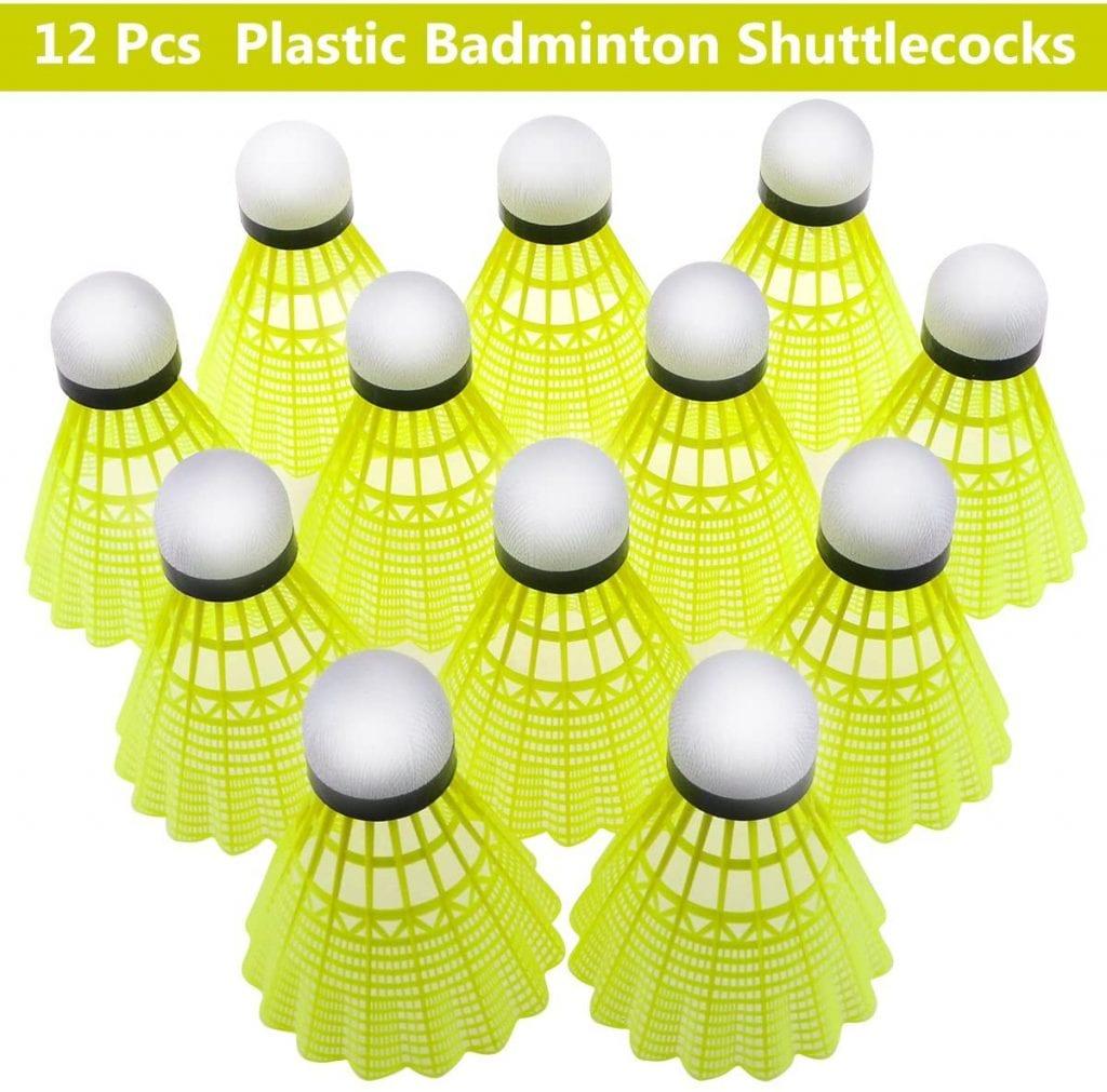 Philonext 12-Pack Shuttlecocks