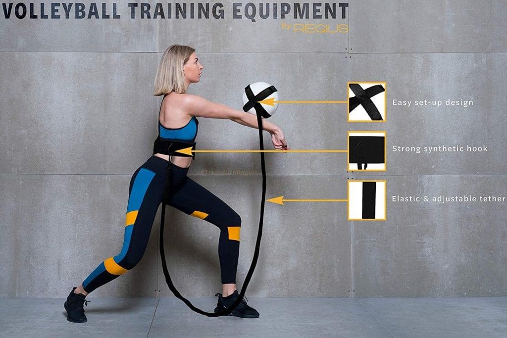 Regius Volleyball Training Equipment 3.0 features