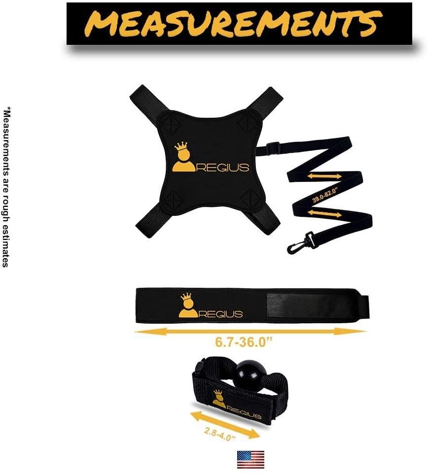Regius Volleyball Training Equipment 3.0 measurement - Volleyball Rebounder