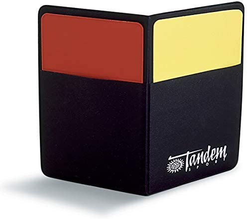Tandem Sport Volleyball Officials Starter Kit penalty cards