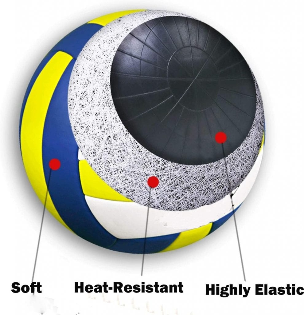 Viemahy Super Soft Volleyball features