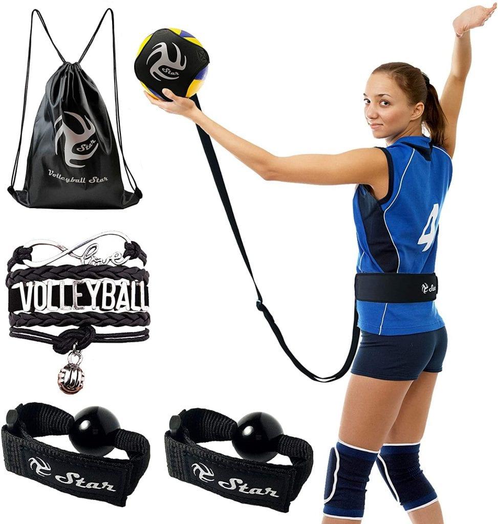 Volleyball Star Volleyball Training Equipment Aid - Volleyball Rebounder
