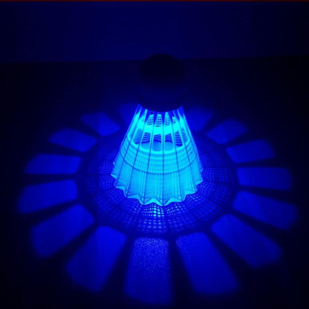 ZHENAN LED Badminton Shuttlecocks blue