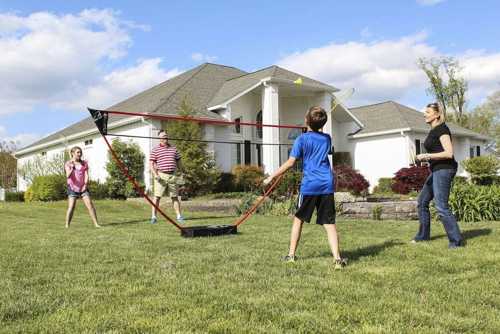 Zume Games Portable Badminton