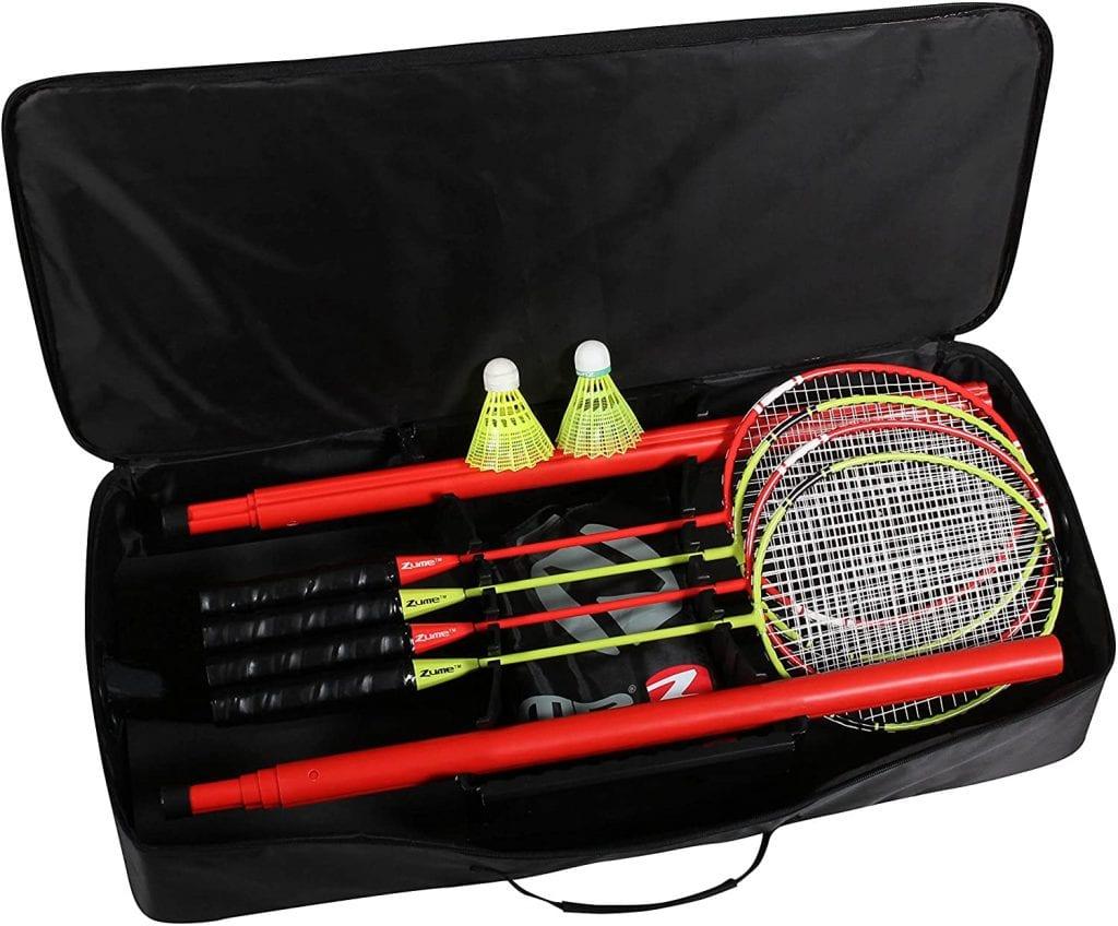 Zume Games Portable Badminton Set kit
