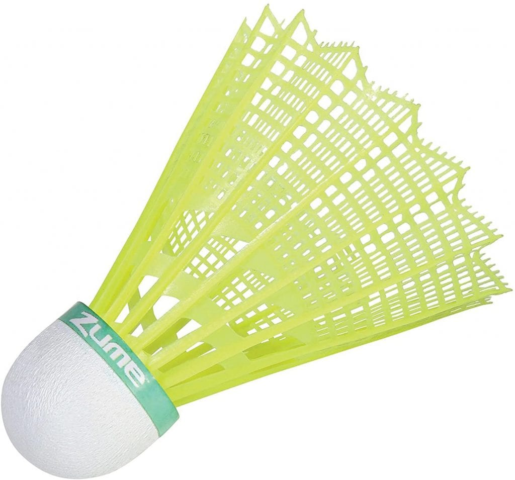 Zume Games Portable Badminton Set shuttlecocks