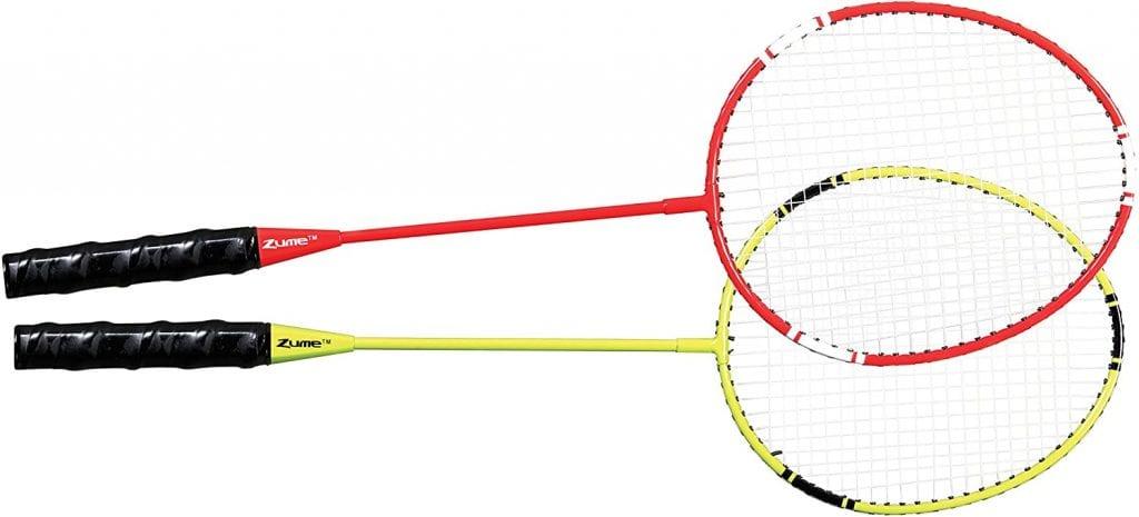 Zume Games Portable Badminton set rackets
