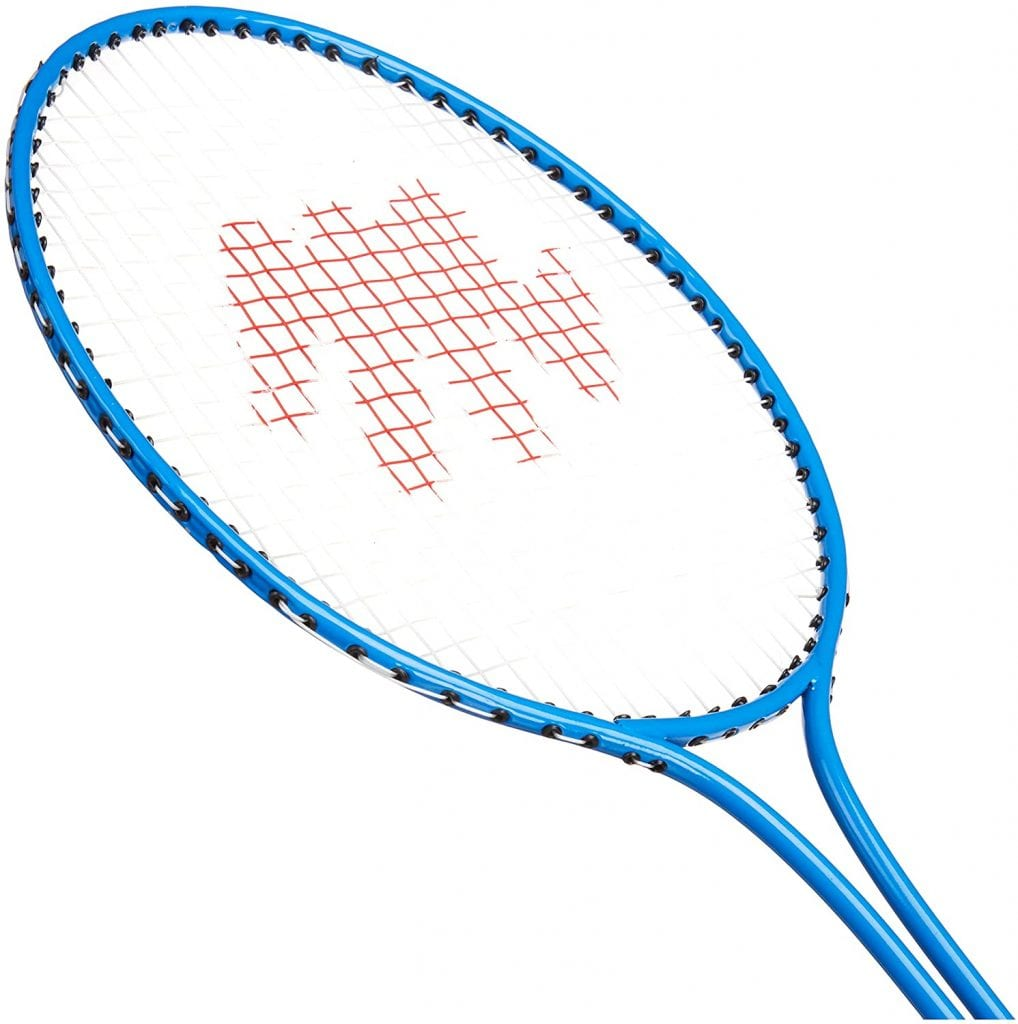 bsn badminton racquet blue