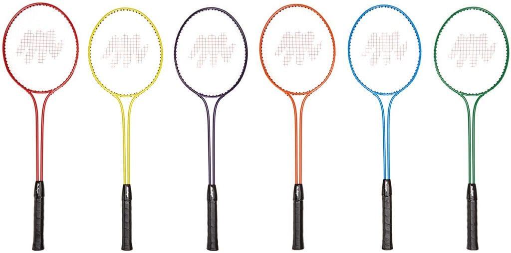 bsn badminton racquet prism pack