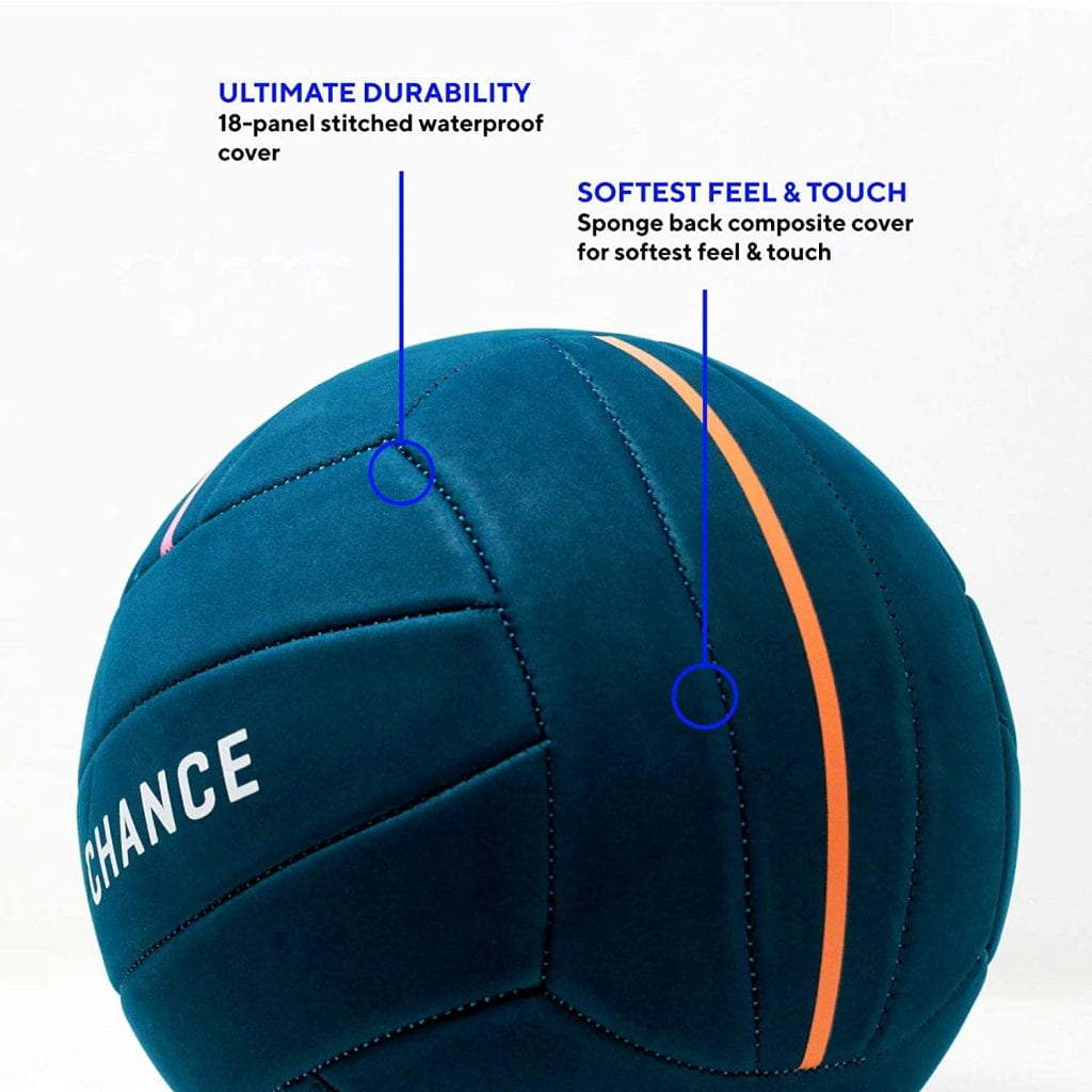 chance soft volleyball features
