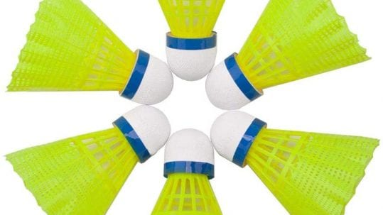top 5 nylon badminton shuttlecocks