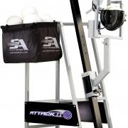 Attack II Volleyball Machine with balls