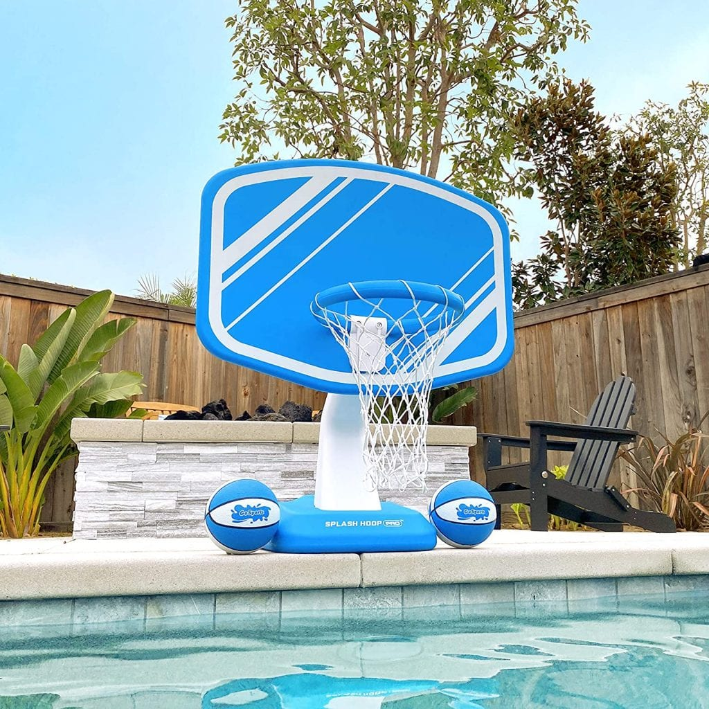 GoSports Pool Basketball Hoop Net And Game